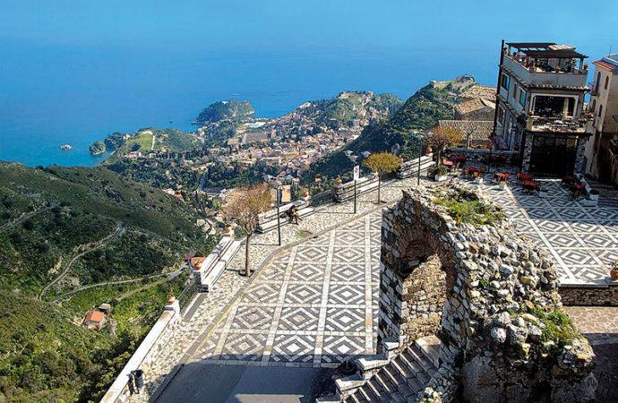 Castelmola. L'acropoli di Taormina