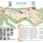 Cartina di Ragusa Ibla