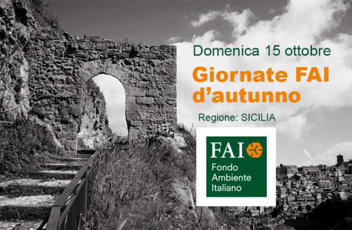 Sicilia: Giornata FAI d'autunno