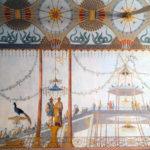 Particolari dipinti della Palazzina Cinese