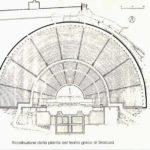 Ricostruzione della pianta del Teatro Greco di Siracusa