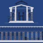 Rappresentazione grafica Tempio Athena-Duomo di Siracusa