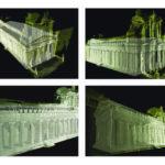 Rappresentazione tridimensionale Tempio Athena-Duomo di Siracusa
