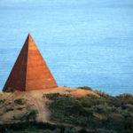 La Piramide, 38º parallelo - Mauro Staccioli