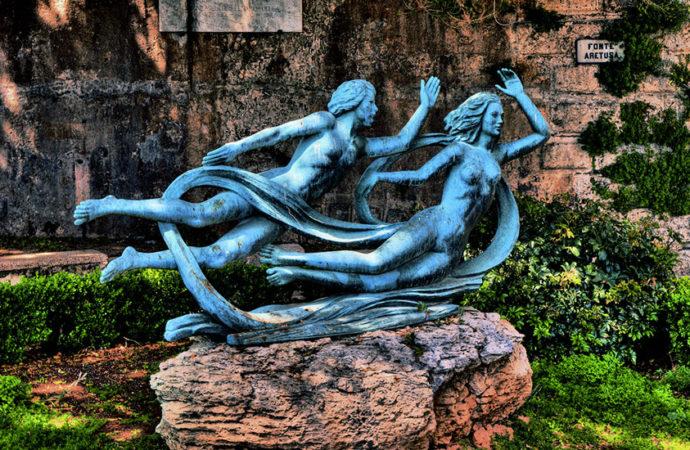 La Fonte Aretusa e il suo mito