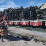 Treno Museo di Villarosa e carretto siciliano