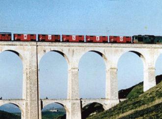 Un Treno Museo nella stazione di Villarosa