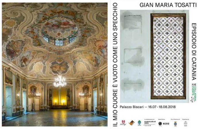 A Palazzo Biscari di Catania: la Mostra di Tosatti
