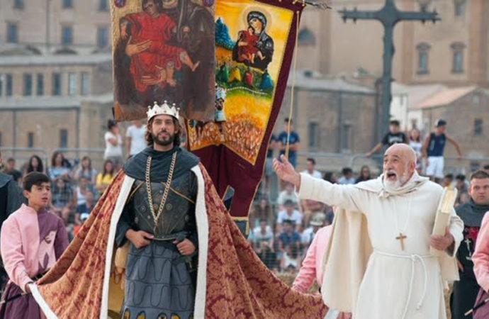 Il Palio dei Normanni incontra il Palio di Siena