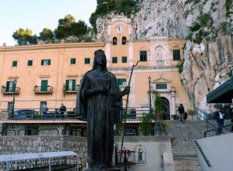 L'acchianata verso il Santuario di Santa Rosalia