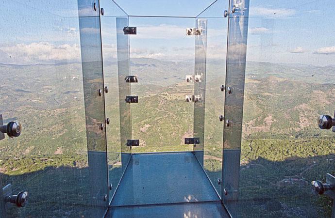 Salto dei Ventimiglia: la passerella sospesa