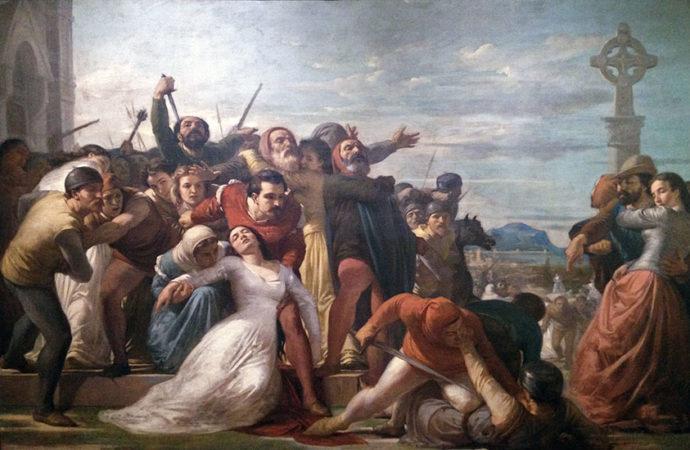 La rivolta dei Vespri siciliani